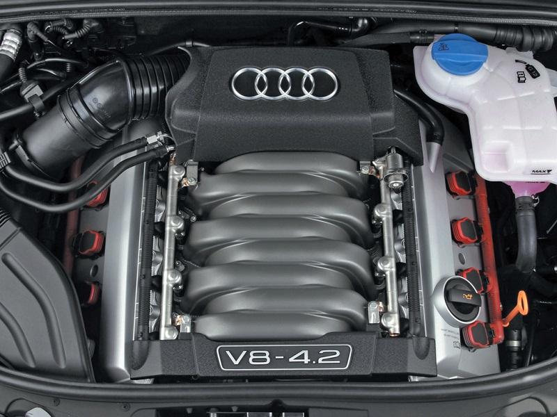 Ремонт двигателя Ауди S4