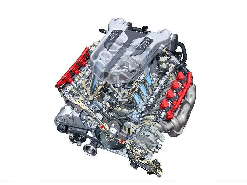 Ремонт двигателя Ауди R8