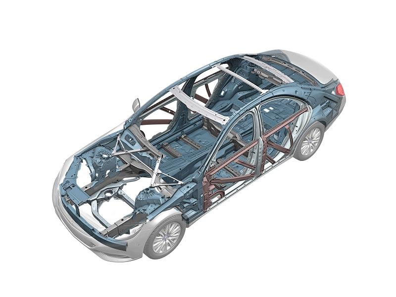 Кузовной ремонт Мерседеса S-класса