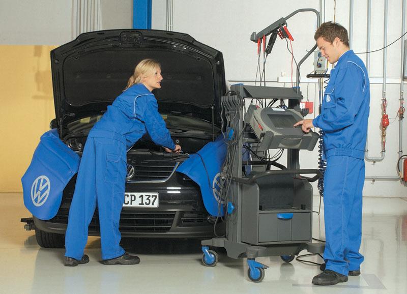 Техническое обслуживание Фольксваген